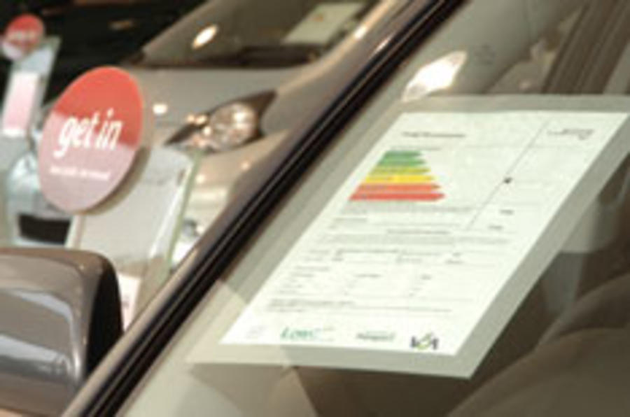 Cars to be rated for manufacturing CO2