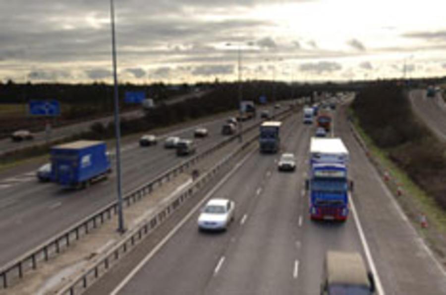 Wrong-way pensioner closes motorway