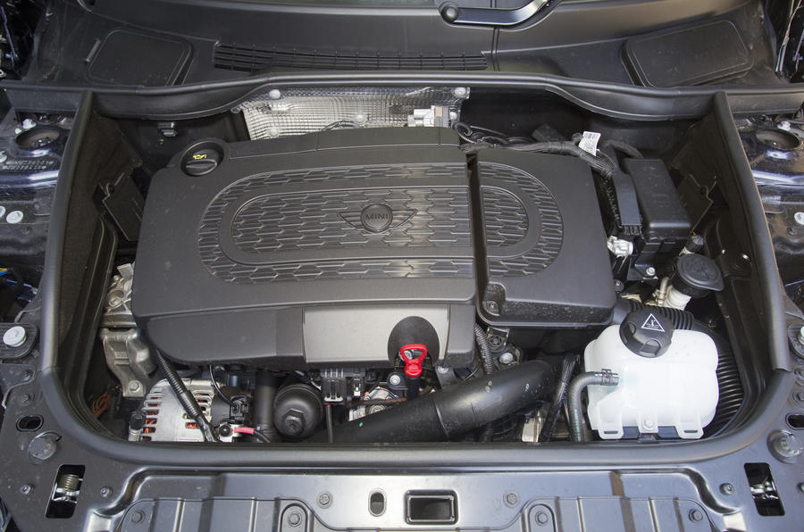 1.6-litre Mini Countryman diesel engine