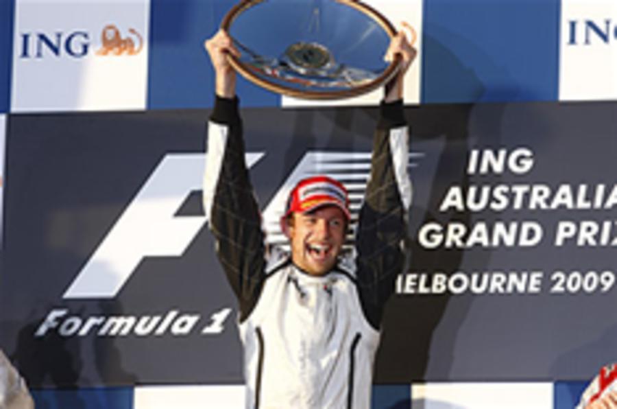 Button takes Barcelona F1 pole