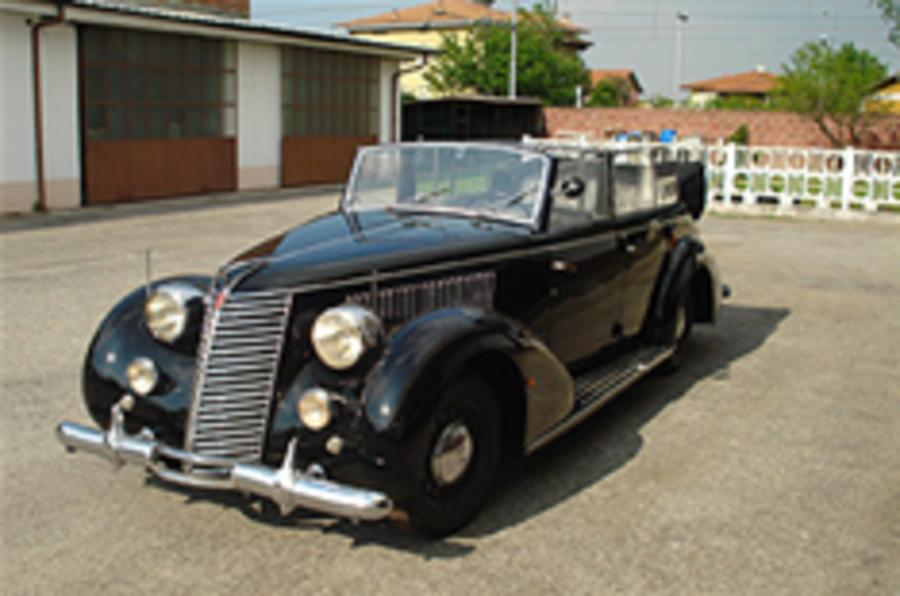 Car that ferried Hitler up for sale