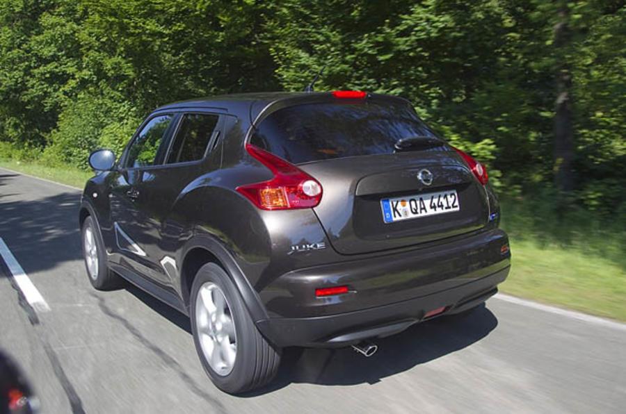 Nissan Juke rear
