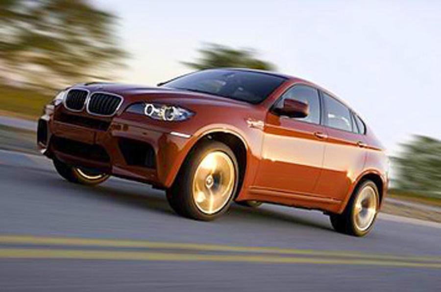 155mph BMW X6 M