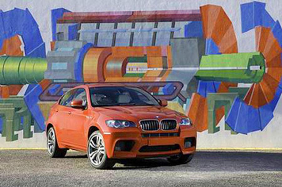 547bhp BMW X6 M
