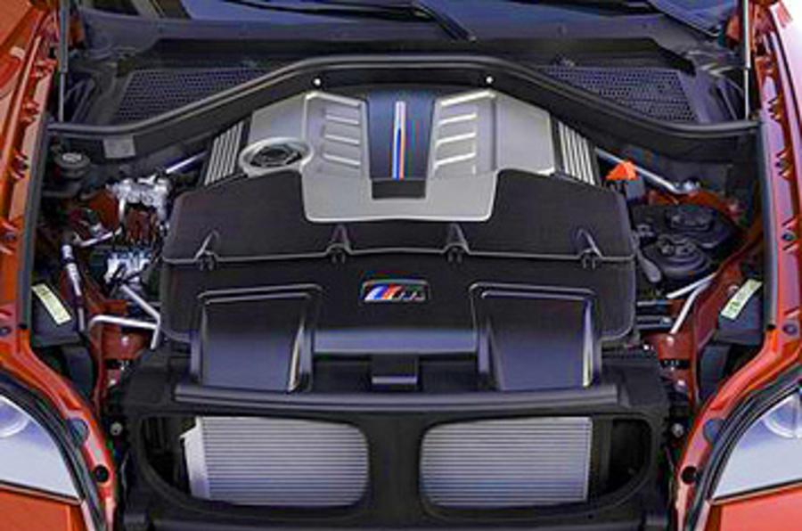 4.4-litre V8 BMW X6 M engine