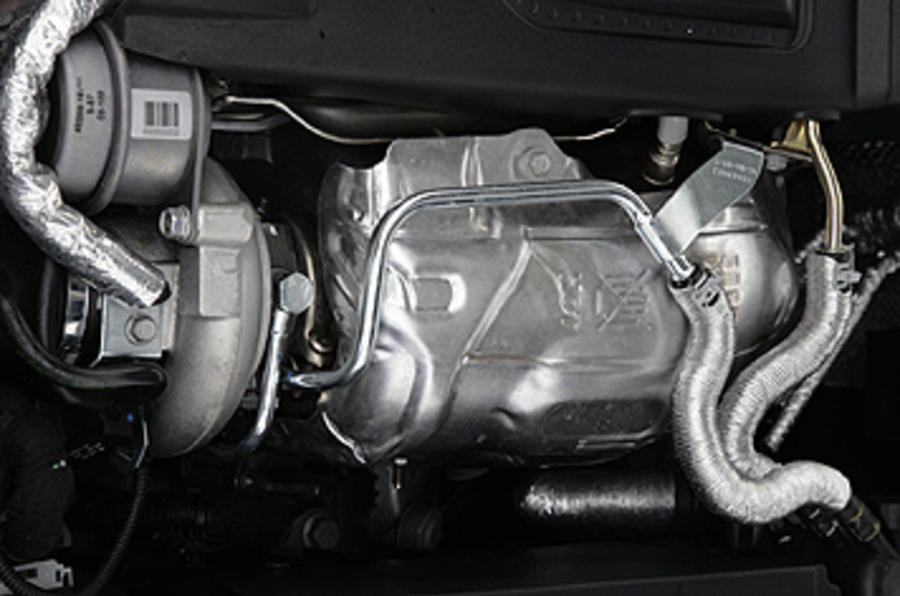 Vauxhall Insignia VXR engine bay