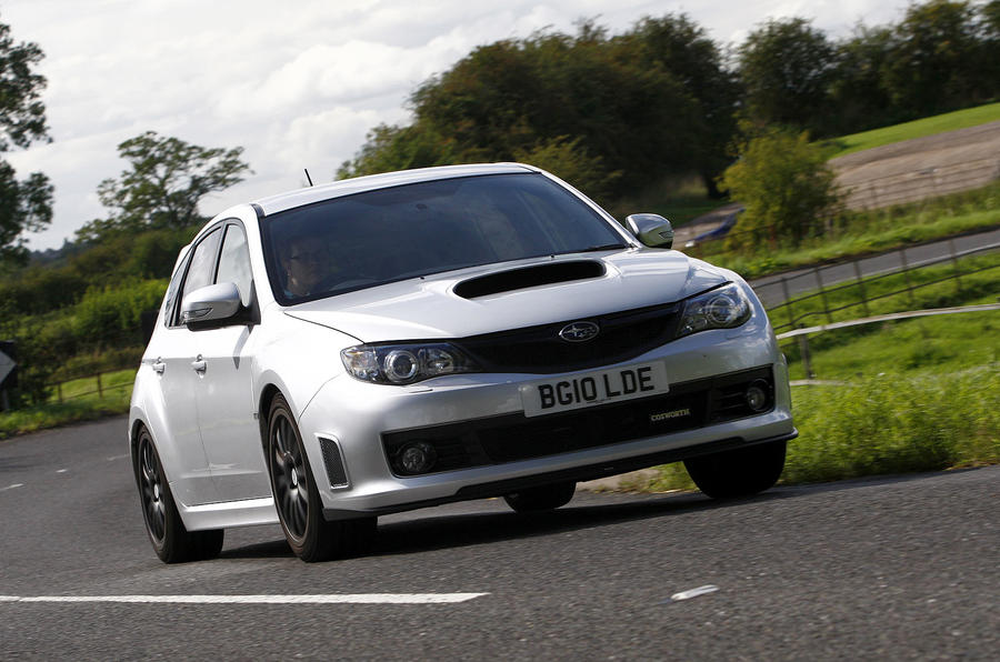 Cosworth Impreza STi CS400 cornering
