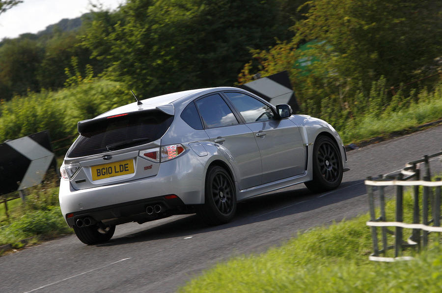 Cosworth Impreza STi CS400 rear cornering