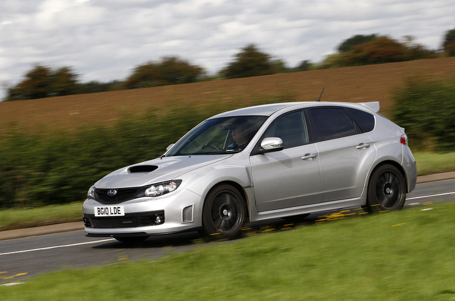 £40,000 Cosworth Impreza STi CS400