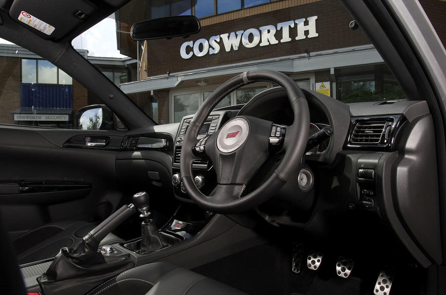 Cosworth Impreza STi CS400 interior