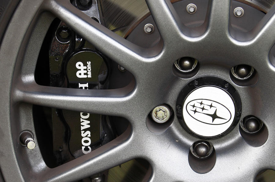 Cosworth brake calipers