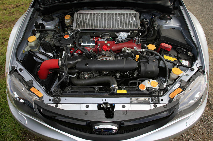 2.5-litre Cosworth Impreza STi CS400 engine