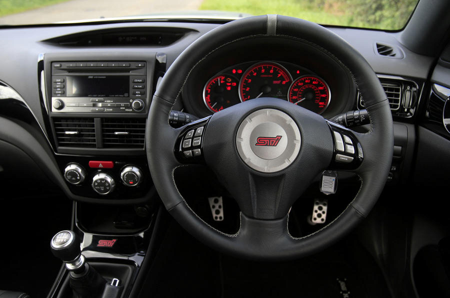 Cosworth Impreza STi CS400 steering wheel