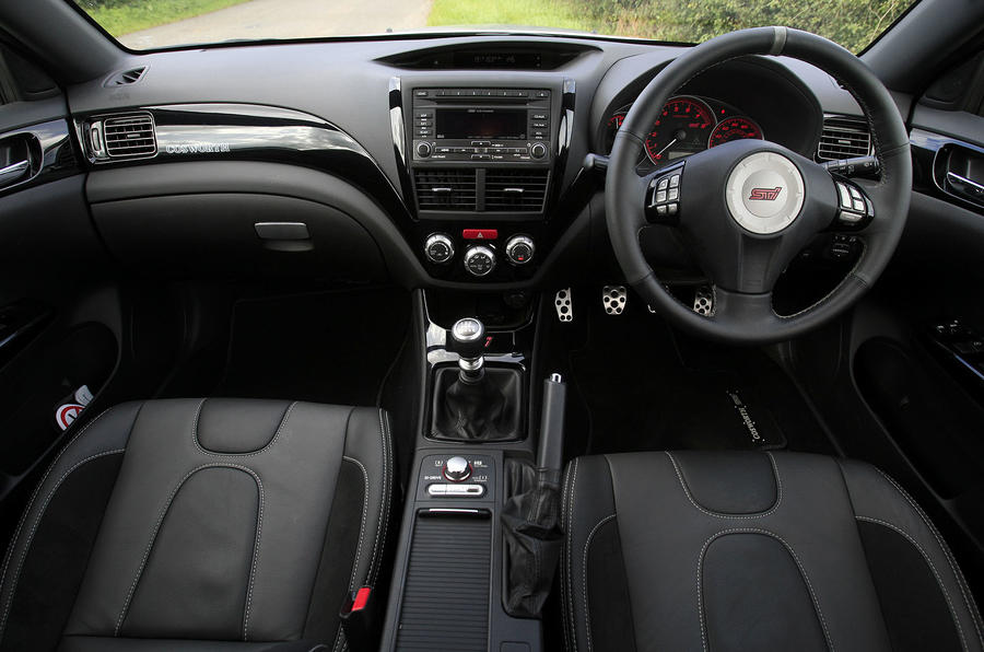 Cosworth Impreza STi CS400 dashboard