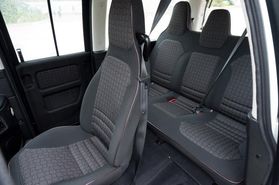 Mia Electric rear seats