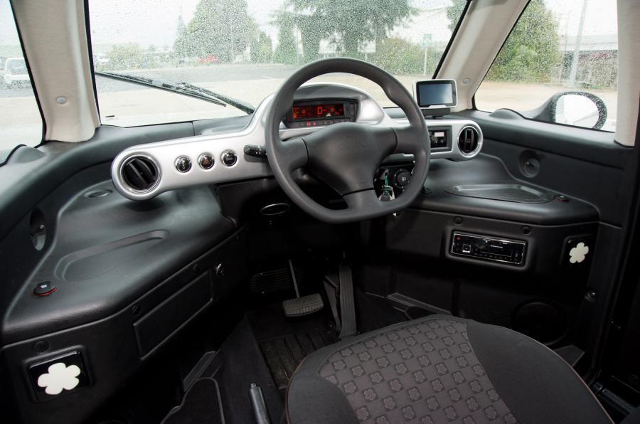 Mia Electric interior