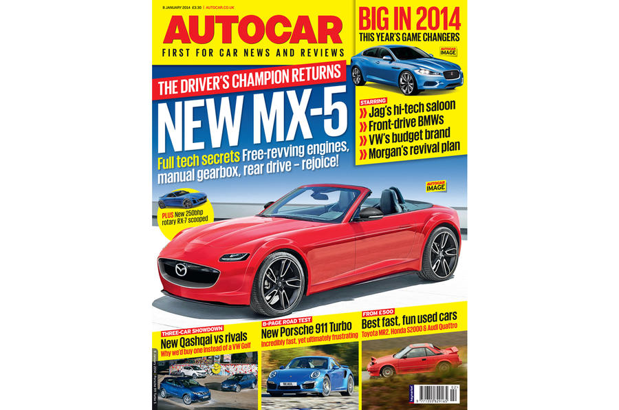 Autocar magazine 8 January preview