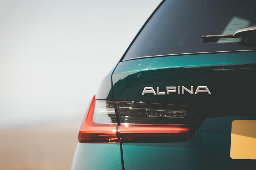 Alpina B3 Touring 2020 road test review - rear lights