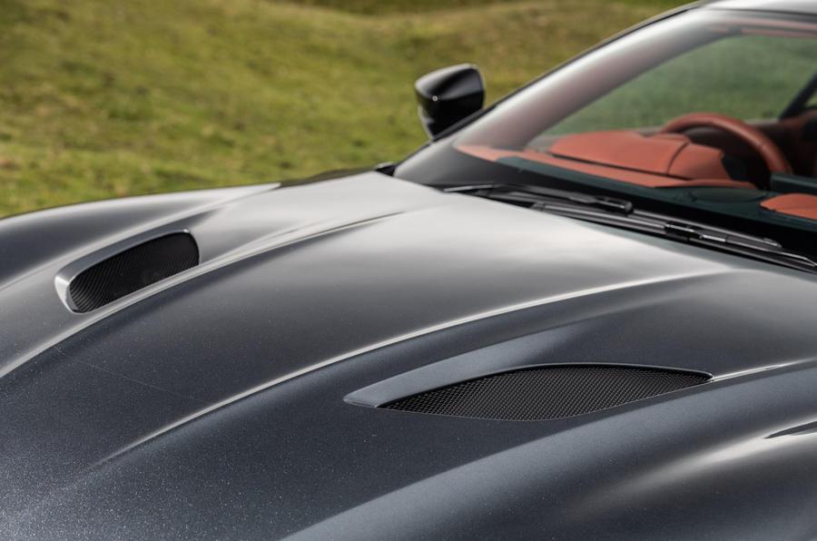 Aston Martin DBS Superleggera 2018 road test review - bonnet