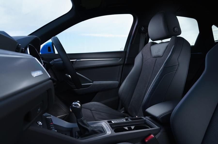 Audi Q3 Sportback 2019 road test review - cabin
