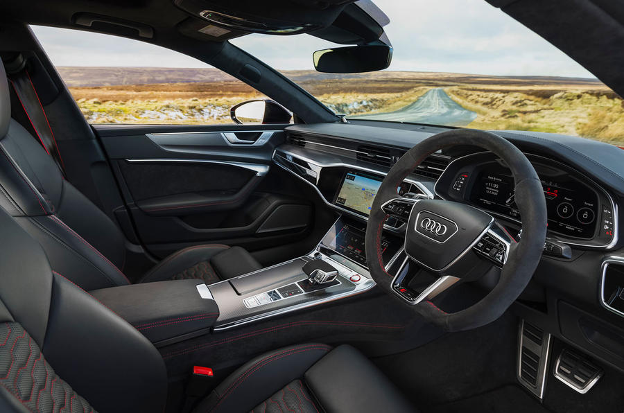 Audi RS7 Sportback 2020 road test review - cabin