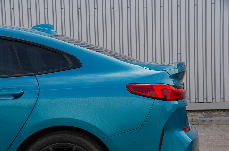 BMW 2 Series Gran Coupe 2020 road test review - rear end