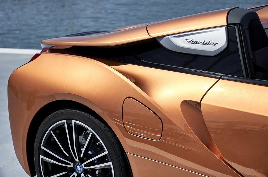 BMW i8 Roadster 2018 review rear end