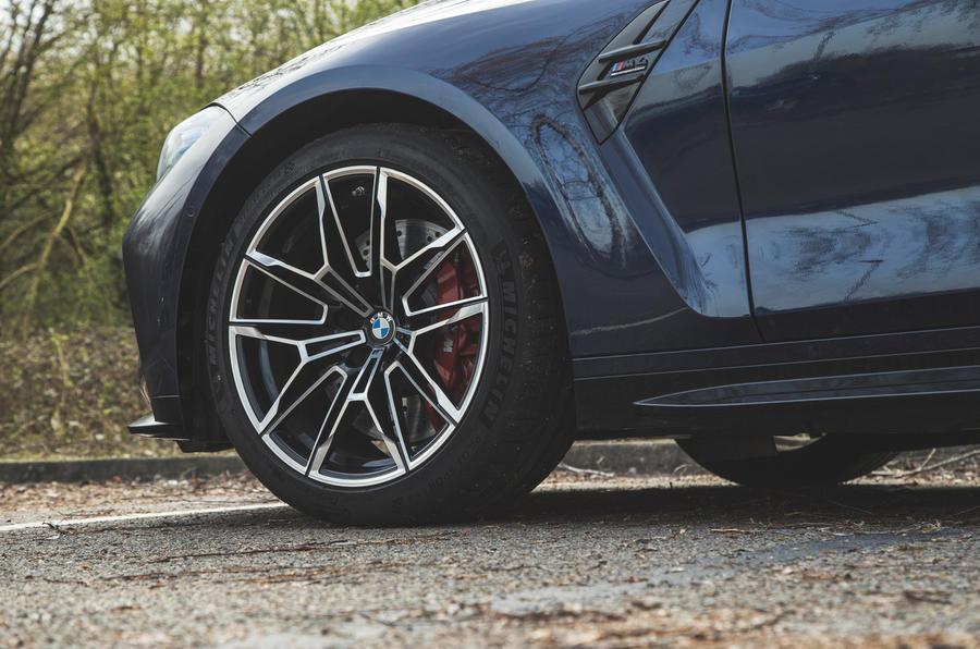 9 BMW M4 Competition 2021 RT roues en alliage