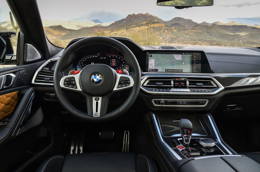 BMW X6 M Competition 2020 road test review - tableau de bord