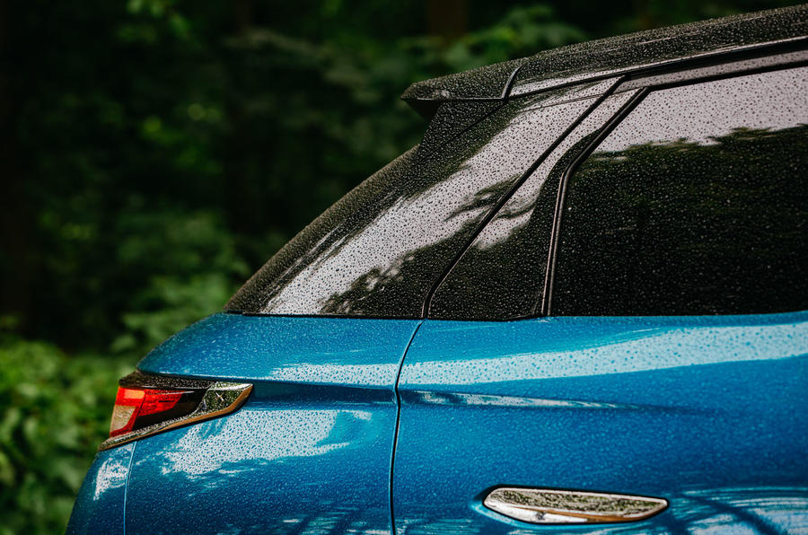 DS 3 Crossback 2019 road test review - tailgate