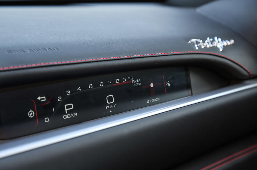 Ferrari Portofino review RPM display