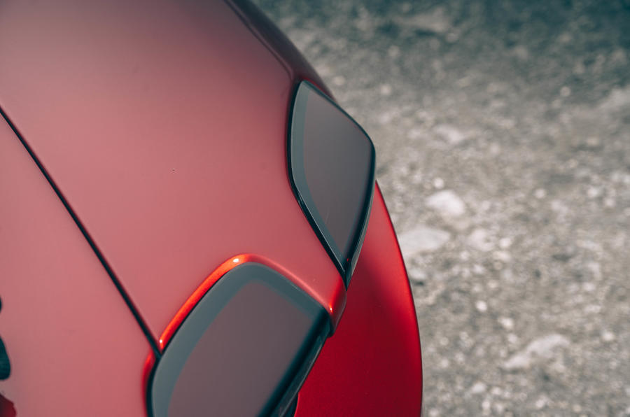 Ferrari Roma 2020 road test review - rear lights