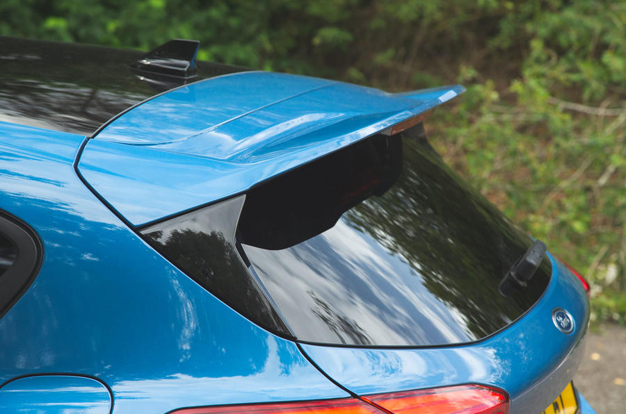 Ford Focus ST 2019 road test - spoiler