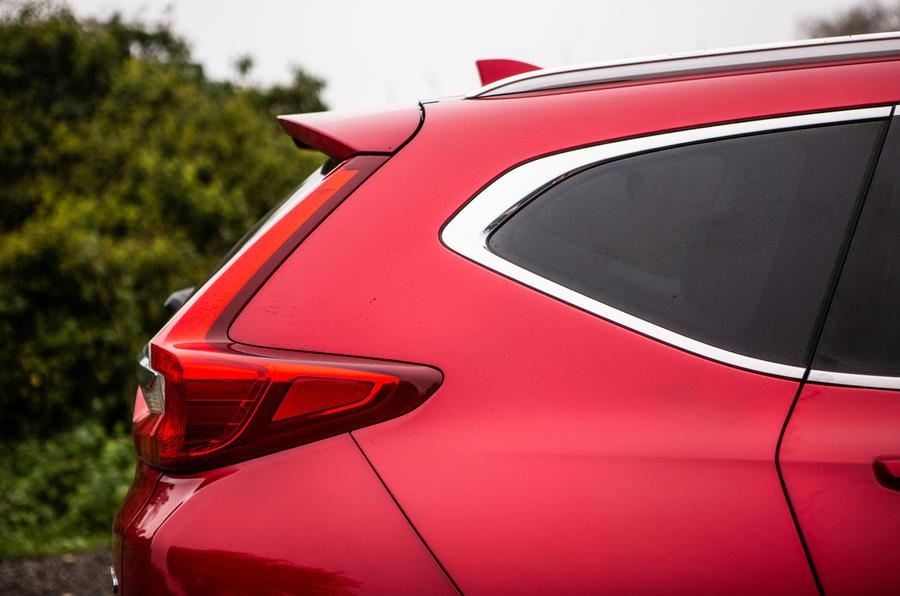 Honda CR-V 2018 road test review - rear three quarters