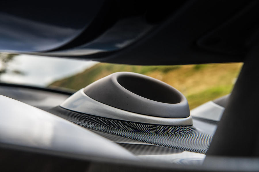 McLaren 600LT 2018 review - exhaust view