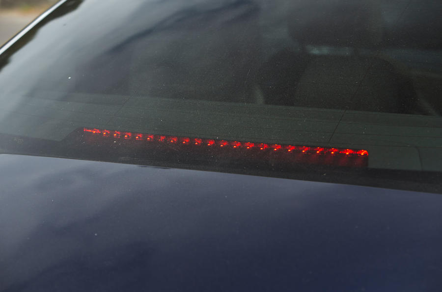 Mercedes-AMG CLS 53 2018 road test review - rear light bar