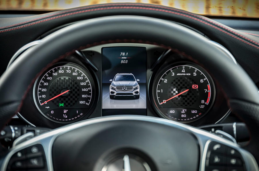 Mercedes-AMG GLC 43 road test review - instruments