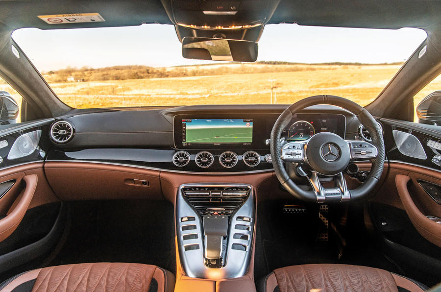 Mercedes-AMG GT four-door Coupé 2019 road test review - dashboard