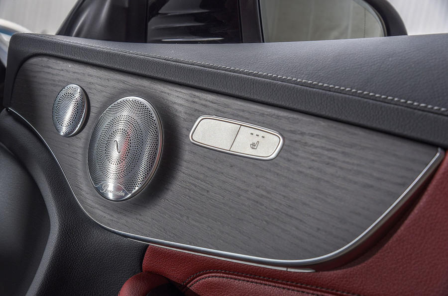 Mercedes-Benz C-Class Coupe 2019 review - speakers