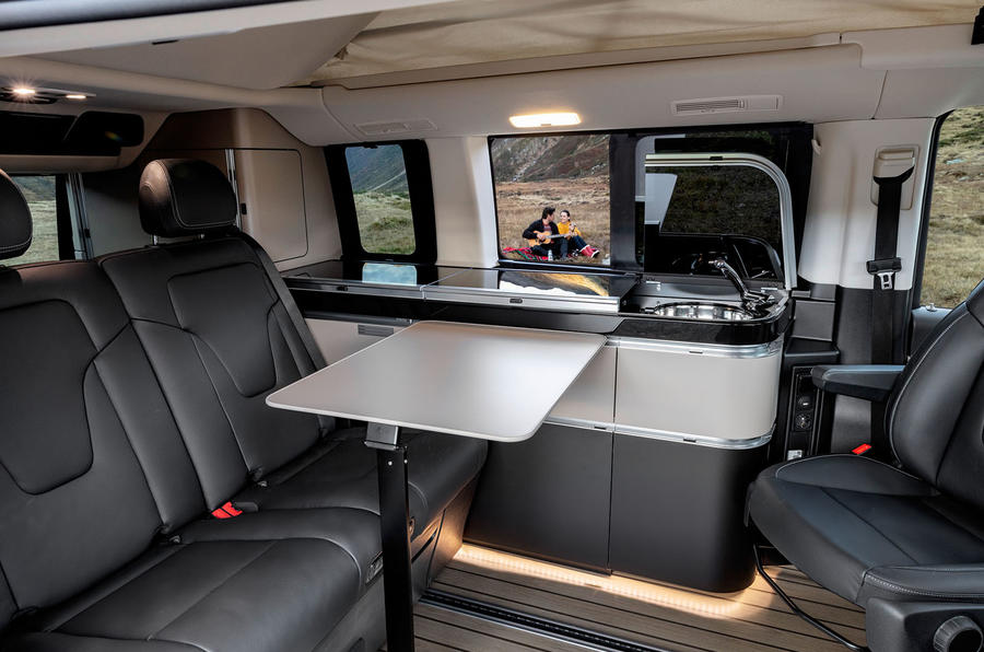 Mercedes-Benz Marco Polo 2019 road test review - table