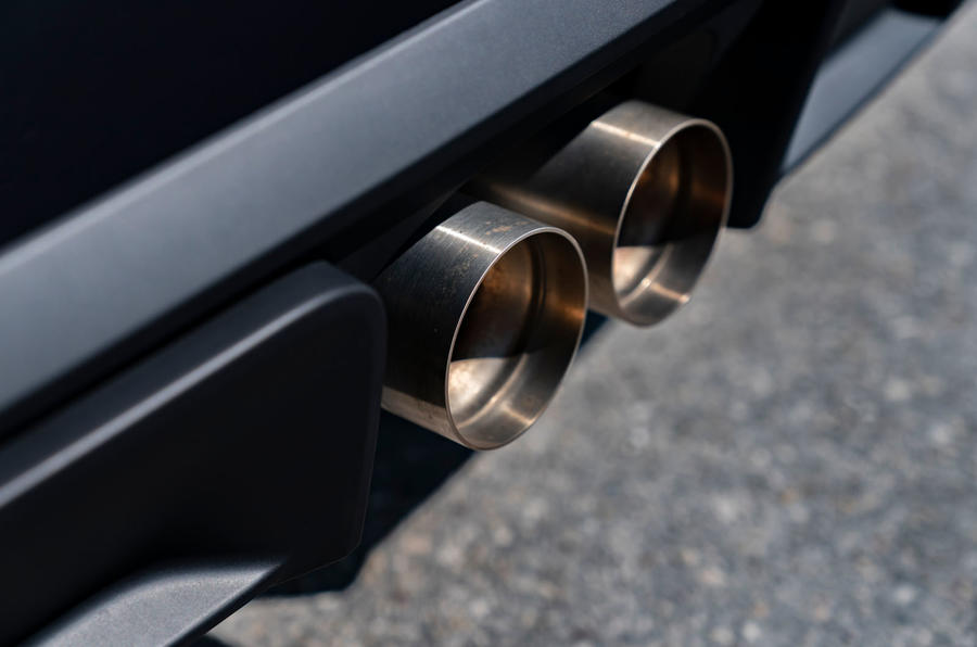 Mini JCW GP 2020 road test review - exhaust