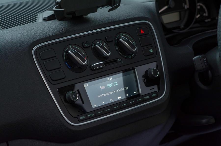 Skoda Citigo 2017 first drive review infotainment