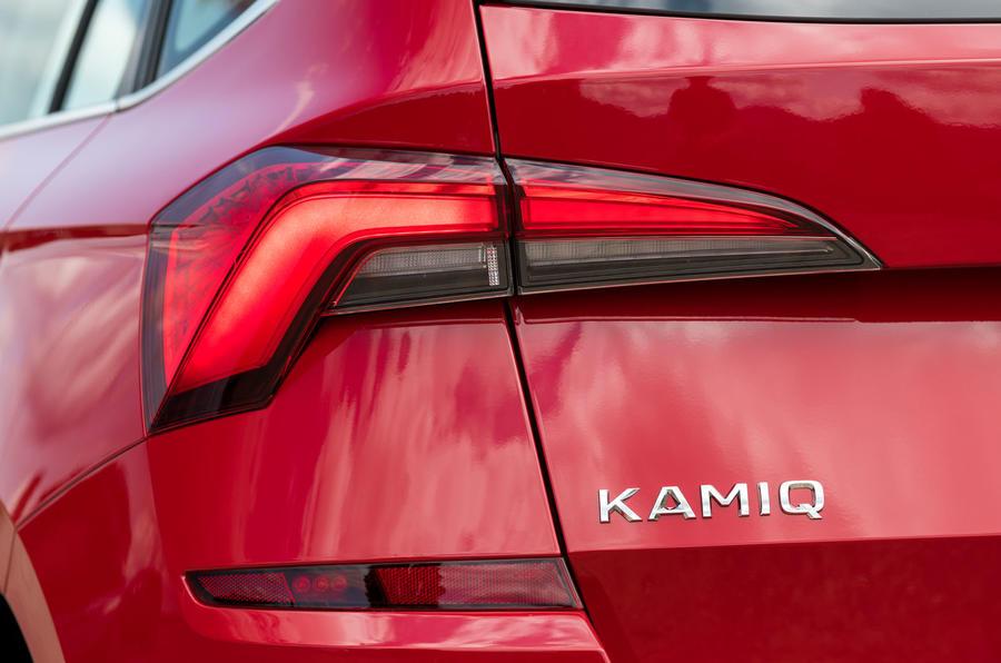 Skoda Kamiq 2019 road test review - rear lights