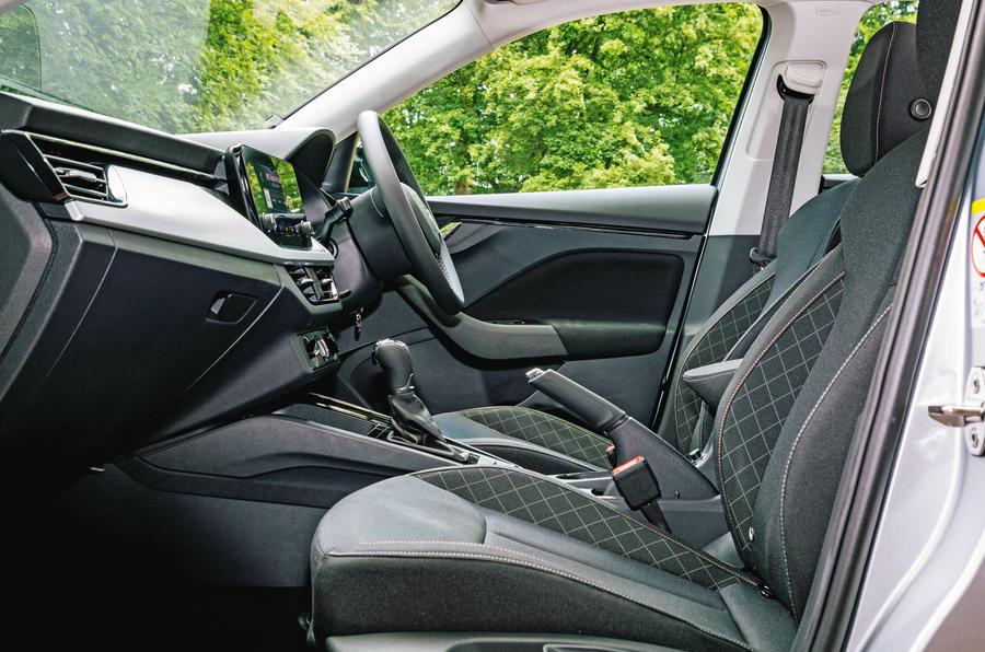 Skoda Scala 2019 road test review - cabin