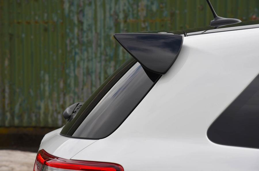 Toyota Yaris GRMN oot spoiler