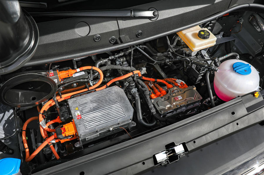 Volkswagen e-Crafter 2018 review - motor