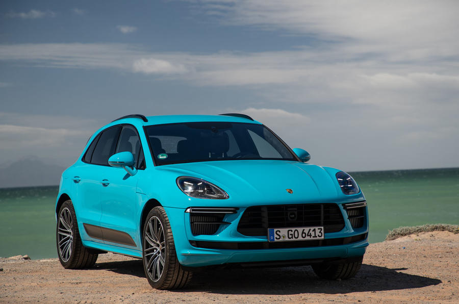 Porsche Macan Turbo 2019 road test review - static front