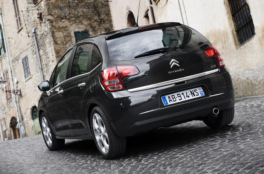 Citroen C3 rear quarter