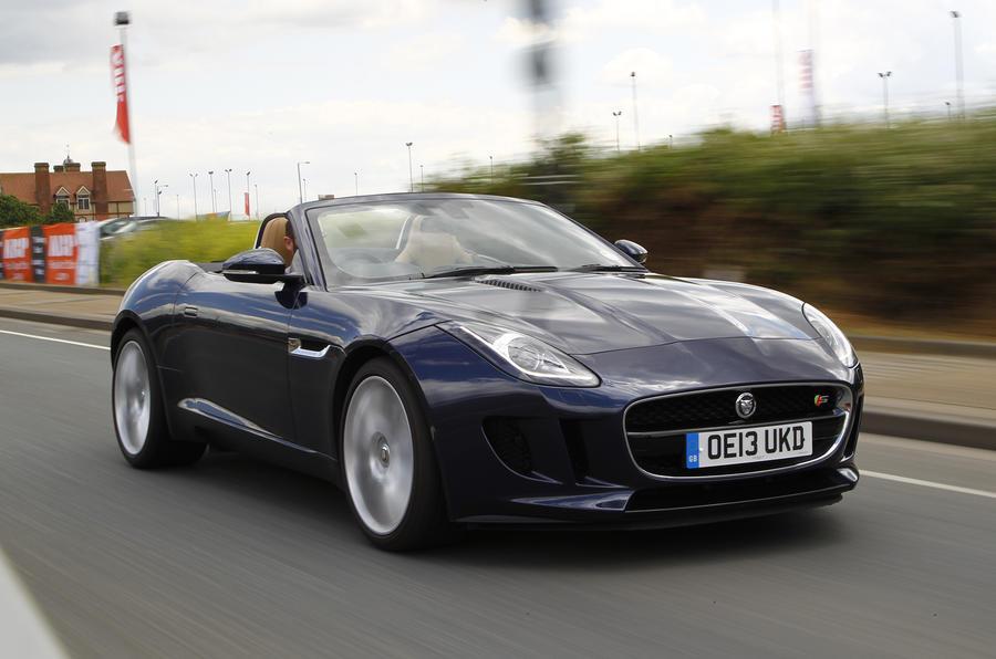 Awesome Sports Car Showdown   Jaguar F Type Versus Porsche 911 Targa