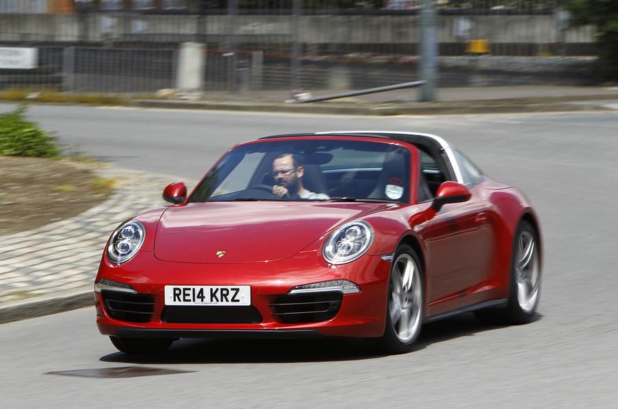 Sports Car Showdown   Jaguar F Type Versus Porsche 911 Targa